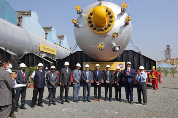 3 heavy LC-Max reactors of HPCL's Visakh Refinery constructed by L&T