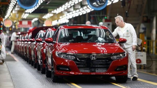 Honda temporarily halting production at all US, Canada plants