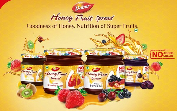 Dabur's honey now expanded to spreads and syrups